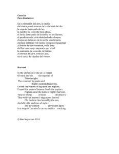 Cosecha Ben Meyerson Translation